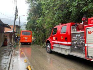 Atendieron deslizamientos por lluvias en varios de sectores de Ibagué 1