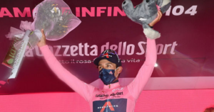 Egan Bernal ganó la novena etapa del Giro 5