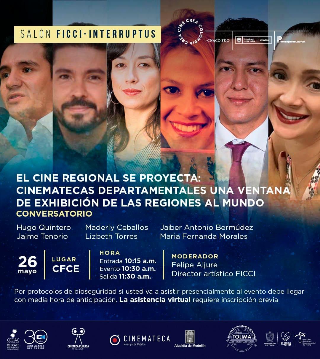 El cine tolimense se expone hoy en festival en Cartagena 2
