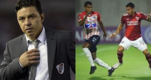 Gallardo, técnico de River, lamentó lo que pasó en Barranquilla 1