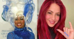 La rivalidad entre Celia Cruz y Shakira 1