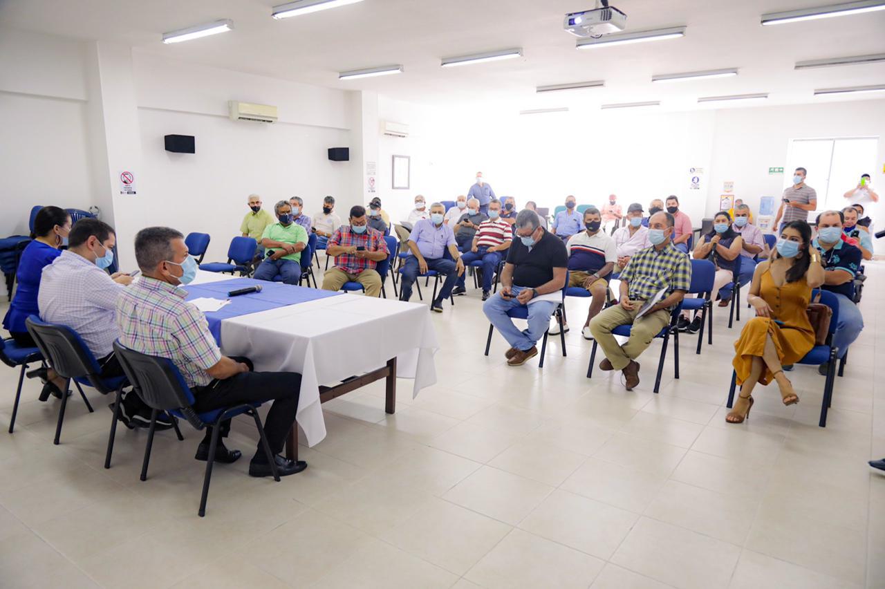 Senador Miguel Ángel Barreto intercederá por transportadores de Ibagué ante el Gobierno Nacional 2