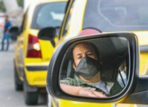 Taxistas continuarán operando con el 90 % del parque automotor en Ibagué desde este sábado 1