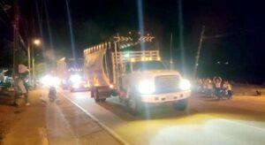 Transportadores levantan bloqueos en el sur del Tolima 1
