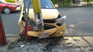 Triste 'Día del Trabajo' para un taxista en Ibagué 1
