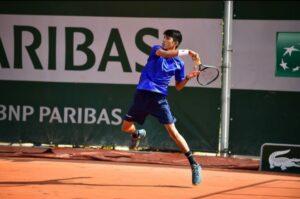 Balance positivo y de aprendizaje, dejó la participación de Johan Rodriguez en Roland Garros. 1