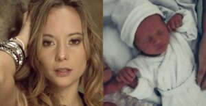 Angélica Blandón presumió los ojos grises de su bebé 1