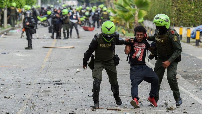 El duro informe de la CIDH sobre las protestas en Colombia que Iván Duque rechaza 2
