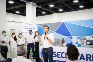 Alcalde Hurtado habilitó nueva sede de la Secretaría de Salud Municipal. 1