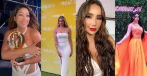 Mucha piel expuesta: Las pintas de los artistas colombianos en los Premios Heat 1