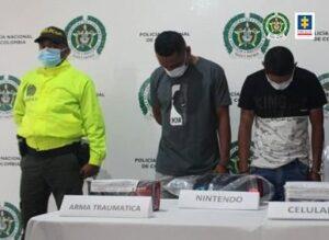 Cayeron dos de 'Los Autólicos', ladrones de personas y casas en Ibagué 1