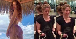 Shakira se ejercitó la entrepierna para verse esbelta 1