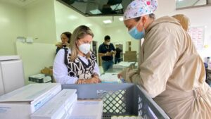 44 mil dosis de vacunas contra el Covid recibió el departamento. 1