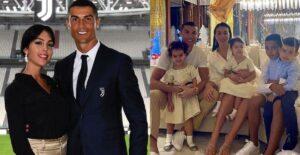 Princesas: Esposa de Cristiano chicaneó la colección de tacones que tienen sus hijas 1
